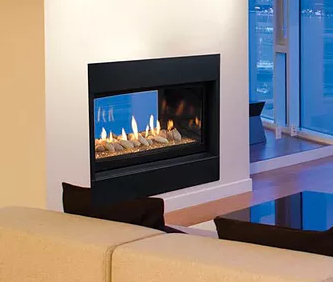 Echelon See-Thru Fireplace