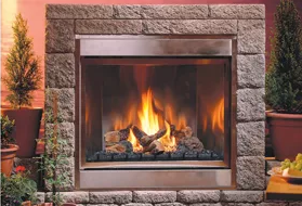 H Series Traditional - Outdoor Ventless Fireplace