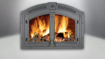 High Country NZ6000 Wood Buring Fireplace