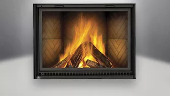 High Country NZ8000 Wood Buring Fireplace