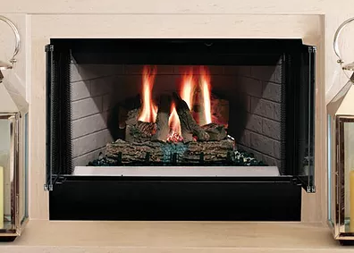 Sovereign Radiant Wood Buring Fireplace