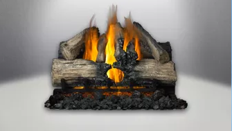 Verso Gas Log Set Fireplace Insert
